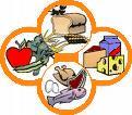 Disegno di alimenti