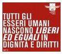 Logo del 60° anniversario della Dichiarazione Universale dei Diritti Umani