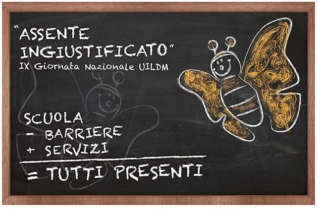 """iniziativa """"assente ingiustificato"""" della UILDM edizione 2013"""