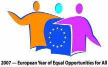 logo anno europeo pari opportunità 2007